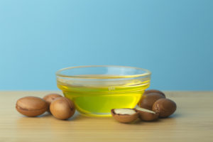 Argan nuts and oil.